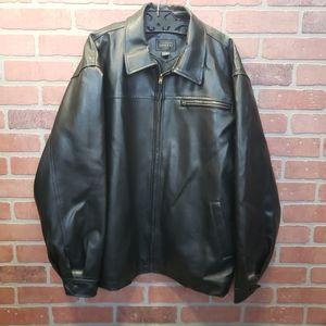 Whispering Smith London Men's Vegan Leather Jacket